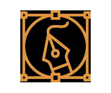 Logodesign und -gestaltung